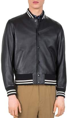 The Kooples Started Teddy Leather Jacket