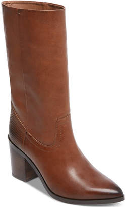 Steve Madden Steven By Frida Western Stovepipe Boots