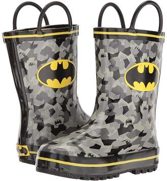Favorite Characters Batman Rain Boots BMS503 Boys Shoes