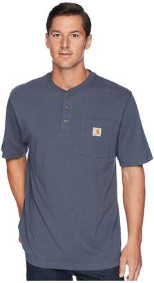 Carhartt Workwear Pocket S/S Henley Men's Short Sleeve Pullover