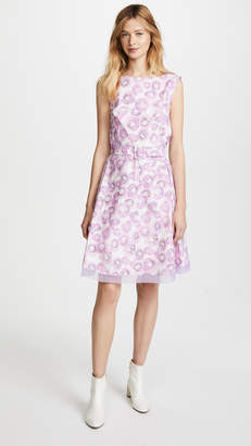 Marc Jacobs Dress with Gored Skirt & Belt