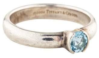 Tiffany & Co. Aquamarine Stacking Band
