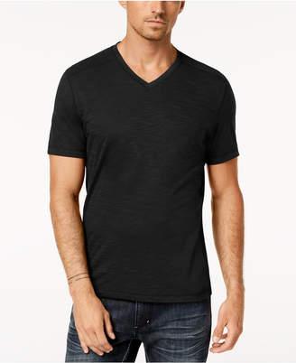 INC International Concepts I.N.C. Men's Ribbed V-Neck T-Shirt, Created for Macy's