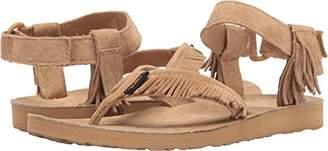 Teva Women's W Original Sandal Leather Fringe