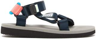 Suicoke Depa Cab Sandals - Womens - Grey Navy