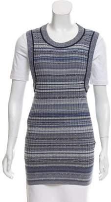 Dolce & Gabbana Striped Sweater Vest w/ Tags