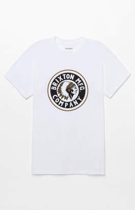 Brixton Rival White T-Shirt