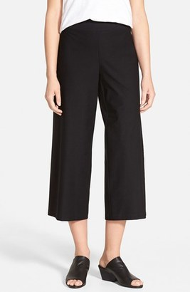 Women's Eileen Fisher Wide Leg Crop Pants $168 thestylecure.com