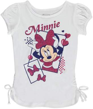 "Disney Minnie Mouse Little Girls' ""Snapshots"" Top"