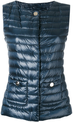 Herno padded vest $440 thestylecure.com