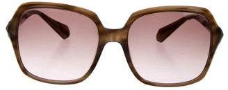 Balmain Square Gradient Sunglasses