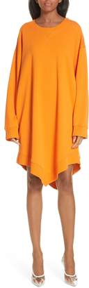 MM6 MAISON MARGIELA Point Hem Sweatshirt Dress