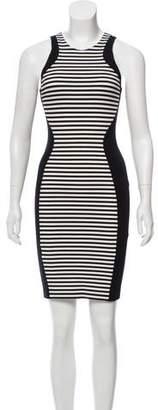 Ronny Kobo Sleeveless Knee-Length Dress