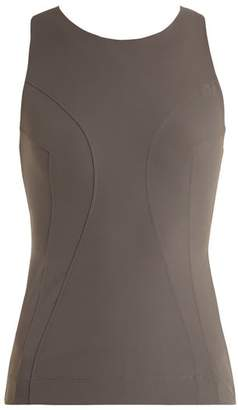 NO KA 'OI No Ka'oi - Moku Sleeveless Performance Top - Womens - Grey