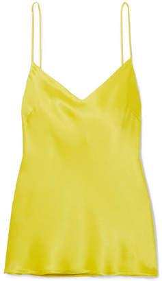 Galvan Satin Camisole - Yellow