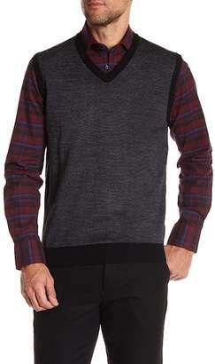Toscano 3- Color Birdseye Sleeveless Vest