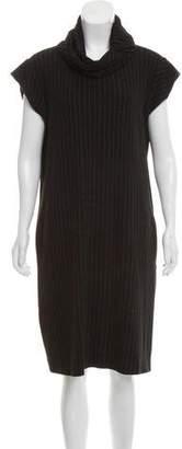Jean Paul Gaultier Pinstripe Knee-Length Dress