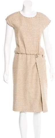 Marc JacobsMarc Jacobs Metallic Tweed Dress w/ Tags
