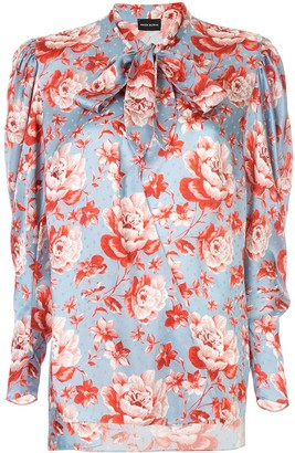 Magda Butrym floral print blouse