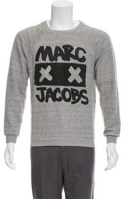 Marc Jacobs Scoop Neck Graphic Sweatshirt