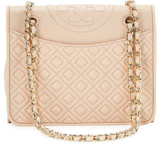 Tory Burch Fleming Medium Quilted Shoulder Bag $475 thestylecure.com