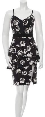 Ungaro Printed Sheath Dress