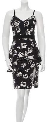 Ungaro Printed Sheath Dress