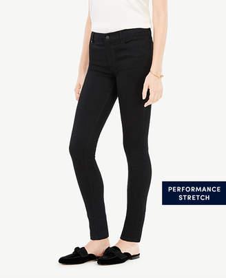 Ann Taylor Modern All Day Skinny Jeans in Jet Black