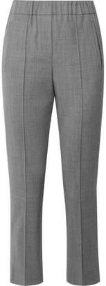 Michael Kors Stretch-wool Straight-leg Pants - Gray