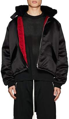 Fear Of God Men's Satin Bomber Jacket