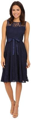 Christin Michaels Faith Lace Sleeveless Dress $68 thestylecure.com