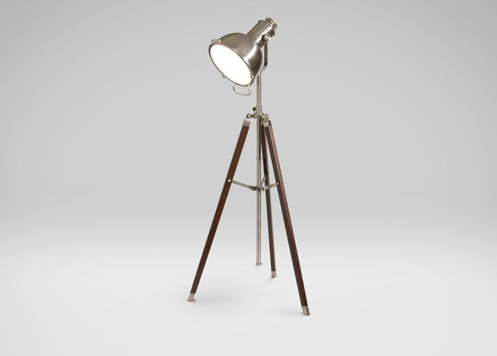 Retro Photographer's Floor Lamp