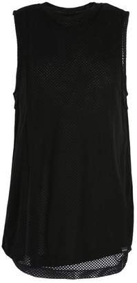 Koral INTERVAL DOUBLE LAYER TANK IN TENCEL AND MESH FABRIC Top