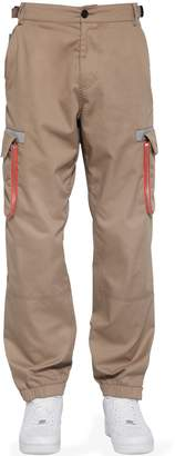 Big Pocket Cotton Blend Cargo Pants