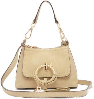 See by Chloe Joan Mini Leather Cross Body Bag - Womens - Light Green