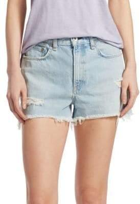 Rag & Bone Justine Vintage High-Rise Denim Shorts