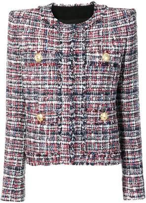 Balmain double breasted tweed jacket