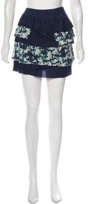 Under.ligne By Doo.ri Floral Mini Skirt