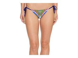 Trina Turk Pacific Paisley Tie Side Hipster Bottom Women's Swimwear
