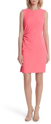 Milly Sherry Ruched Sheath Dress