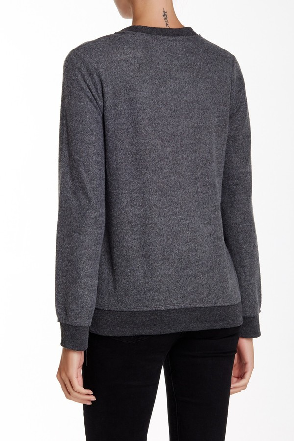 Chaser Crew Neck Long Sleeve Sweater 2