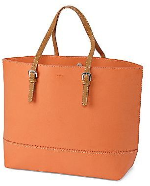 Mng by Mango® Contrast-Handle Tote