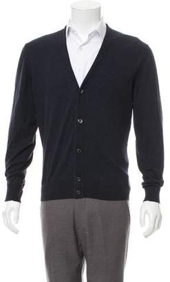 Marc Jacobs Woven Button-Up Cardigan
