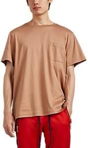 BEIGE FiveSeventyFive Men's Oversized Cotton T-Shirt - Beige, Tan