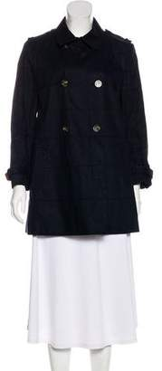 Moncler Double-Breasted Short Coat