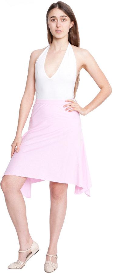 American Apparel Fine Jersey Drape Skirt