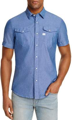 G-STAR RAW Tacoma Regular Fit Button-Down Shirt $120 thestylecure.com
