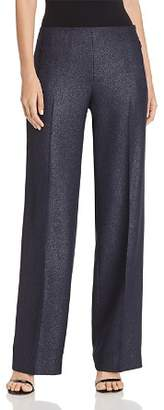 Elie Tahari Odette Metallic Wide-Leg Pants