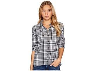 Hurley Wilson Long Sleeve Button Up Women's Long Sleeve Button Up