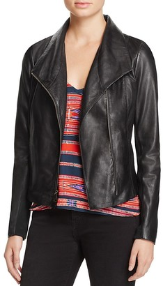 AQUA Leather Jacket - 100% Exclusive $298 thestylecure.com